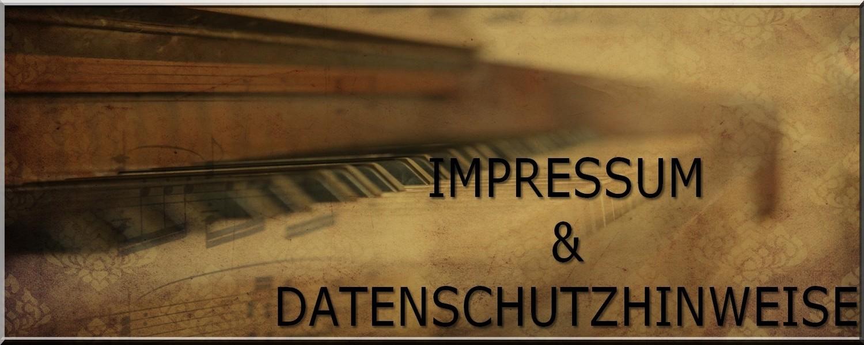 Impressum und Datenschutzhinweise - Klavier Flügel Hamburg